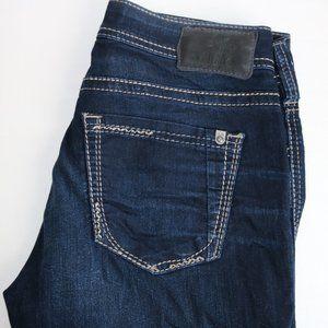 Suki Super Stretch Silver Jeans
